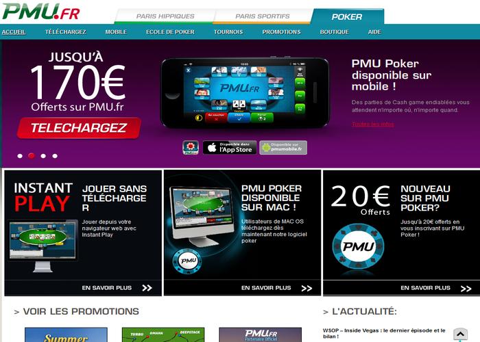 avis sur le poker du site pmu.fr