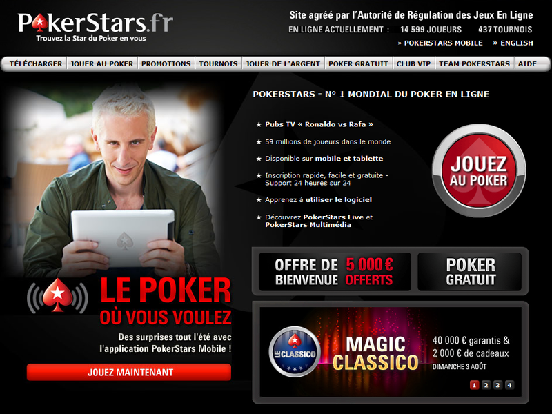 avis sur le site pokerstars.fr