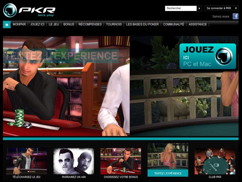 pkr.fr est un site de poker original avec des avis positifs