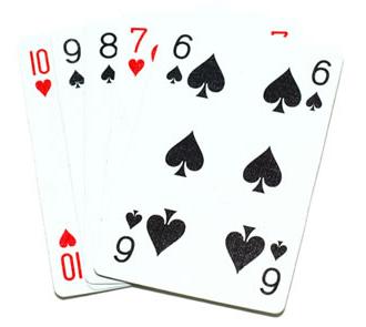 la suite est également appelée la quinte au poker